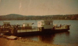 The ferryboat at Westfield, back in the day.
